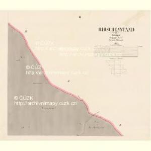 Hirschenstand - c2818-2-003 - Kaiserpflichtexemplar der Landkarten des stabilen Katasters