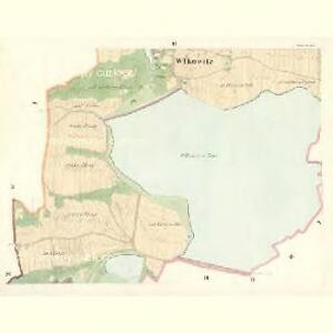 Wlkowitz - c8708-1-002 - Kaiserpflichtexemplar der Landkarten des stabilen Katasters