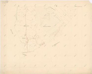 Katastrální mapa obce Fleky spolu s obcí Červené Dřevo WX-XI-27 bci
