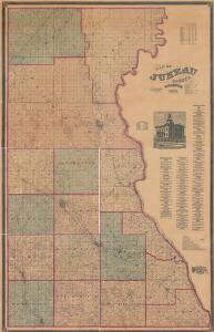Map of Juneau County Wisconsin