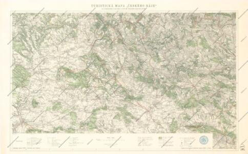 Turisticka Mapa Ceskeho Raje
