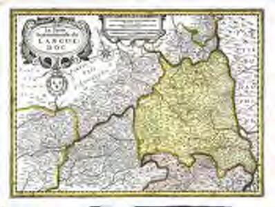 La partie septentrionale du Languedoc