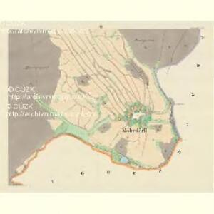 Möhrdörfel (Miruweczek) - m1816-1-003 - Kaiserpflichtexemplar der Landkarten des stabilen Katasters