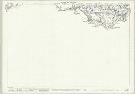 Devon CXXII.2 (includes: Torquay) - 25 Inch Map