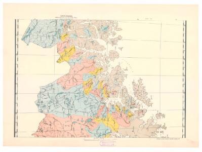 Spesielle kart 110-3: Hydrografisk kart over det nordlige Norge