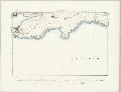 Cornwall LI.NE - OS Six-Inch Map