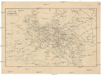 Cestovní spoje v Evropě