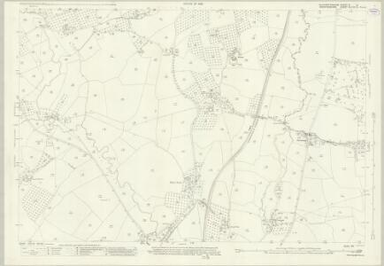 Gloucestershire X.9 (includes: Donnington; Dymock) - 25 Inch Map
