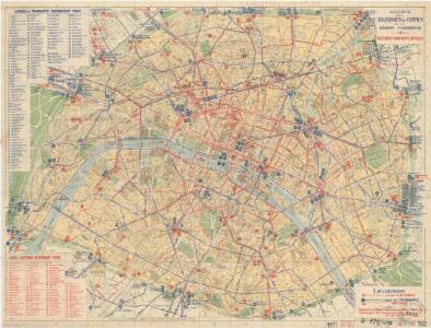 Société des Transports en Commun de la Région Parisienne: Autobus Tramways Bateaux Lignes de Banlieue