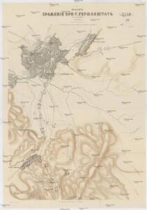 Plan sraženija pri g. Germanštatě 25 ijulja 1849 g