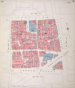 Insurance Plan of City of London Vol. I: sheet 12