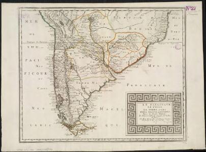 Le Paraguayr, Le Chili, La Terre, et les Isles Magellanicques