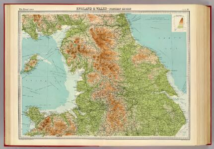 England & Wales, northern section.
