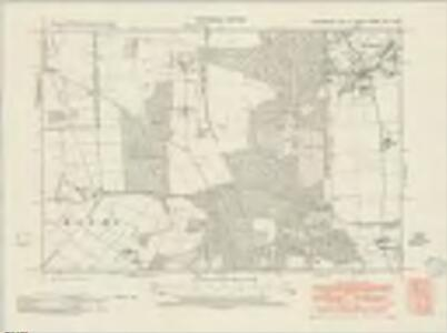 Lincolnshire XIX.SW - OS Six-Inch Map