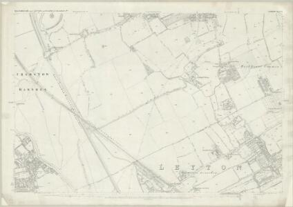 London (First Editions c1850s) VI (includes: Leyton; Walthamstow) - 25 Inch Map