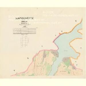 Königseck - c3724-1-001 - Kaiserpflichtexemplar der Landkarten des stabilen Katasters