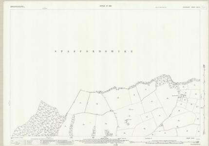 Shropshire XVI.8 (includes: Cheswardine; Tyrley) - 25 Inch Map