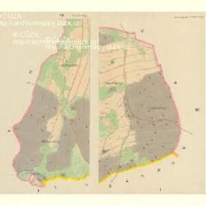Waldetschlag und Hardetschlag - c1787-1-001 - Kaiserpflichtexemplar der Landkarten des stabilen Katasters