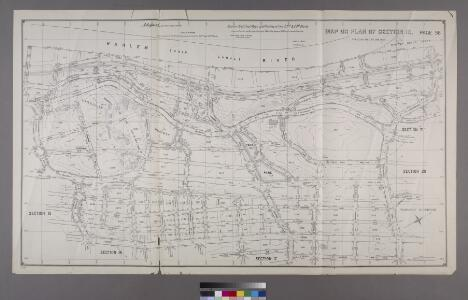 Map or Plan of Section 16. [Bounded by Burnside Avenue, Jerome Avenue, E. 184th Street, Walton Avenue, Morris Avenue and Kingsbridge Road.]