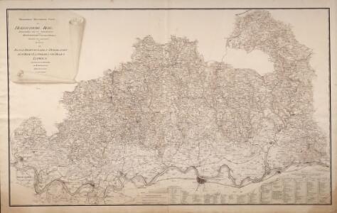 Topographisch-Militairische Karte Des Herzogthums Berg