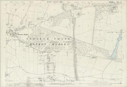Middlesex VI.4 (includes: Barnet Vale; East Barnet; Enfield St Andrew; Monken Hadley) - 25 Inch Map