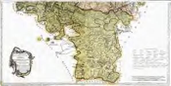 Mapa geográfico de la provincia de Soria, 2