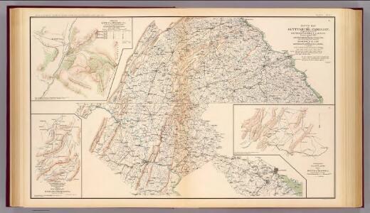 Route, Gettysburg campaign.