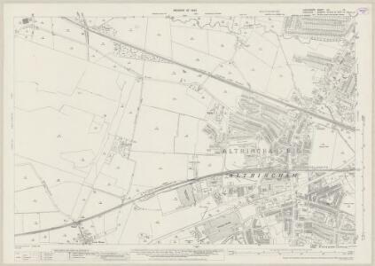 Lancashire CX.15 (includes: Altrincham; Dunham Massey; Sale) - 25 Inch Map