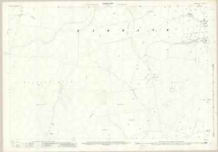 Westmorland XXXIX.4 (includes: Firbank; Killington; Lambrigg) - 25 Inch Map
