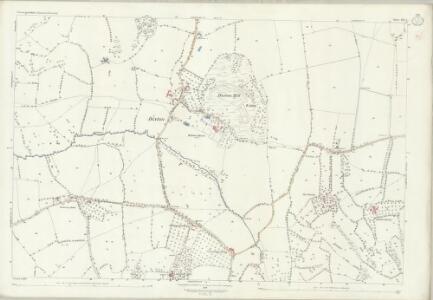 Gloucestershire XX.1 (includes: Alderton; Gotherington; Oxenton; Prescott) - 25 Inch Map