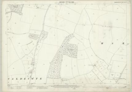 Cambridgeshire XLVI.2 (includes: Bourn; Caldecote; Hardwick; Toft) - 25 Inch Map