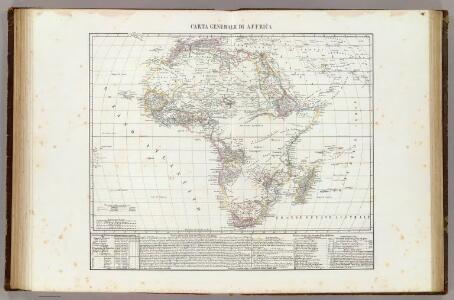 Carta generale di Affrica.