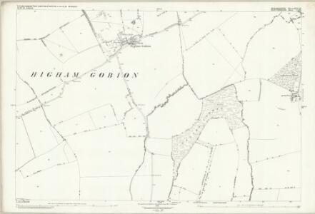 Bedfordshire XXVI.10 (includes: Barton in The Clay; Hexton; Higham Gobion; Shillington) - 25 Inch Map