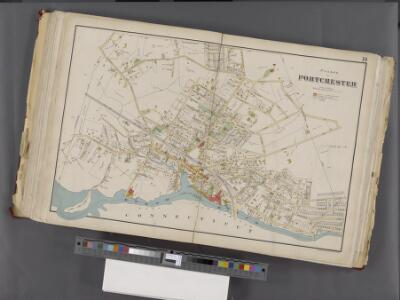 Westchester, Double Page Plate No. 19 [Map bounded by Regent St., Connecticut] / prepared under the direction of Joseph R. Bien, from general surveys and official records.