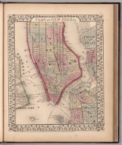 Plan of New York &c.