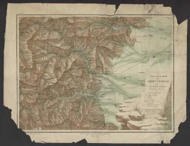 Carte historique des vallées Vaudoises