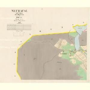 Neuhäusl - c5260-1-001 - Kaiserpflichtexemplar der Landkarten des stabilen Katasters