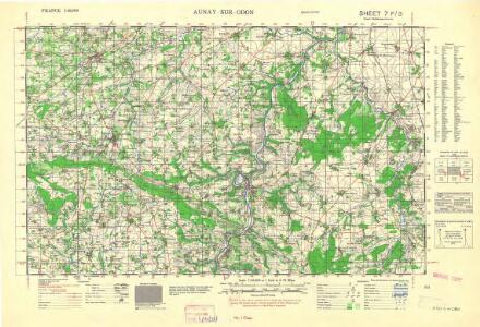 France 1:50,000 , Series GSGS 4250, St. Pierre-sur-Dives