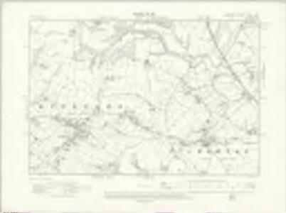 Cheshire XXXIII.NW - OS Six-Inch Map