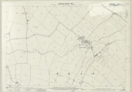 Bedfordshire I.16 (includes: Covington; Dean and Shelton) - 25 Inch Map