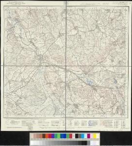 Meßtischblatt [8022] : Königseggwald, 1936