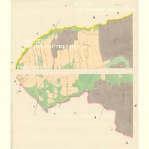 Dohle (Dalow) - m0412-1-001 - Kaiserpflichtexemplar der Landkarten des stabilen Katasters