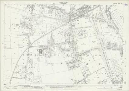 Middlesex XXV.5 (includes: Sunbury) - 25 Inch Map