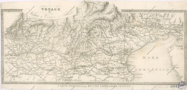 Carta postale del Regno Lombardo Veneto