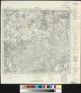 Messtischblatt 2578 : Witten, 1935 Witten