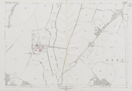 Wiltshire XXXVII.3 (includes: Hungerford; Inkpen; Kintbury; Shalbourne) - 25 Inch Map
