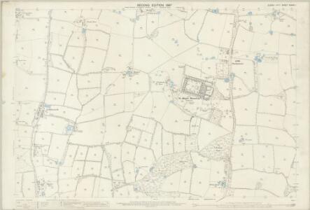 Sussex XXXVIII.1 (includes: Cowfold; Shermanbury; West Grinstead) - 25 Inch Map