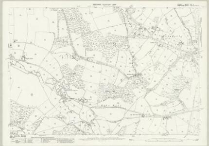 Dorset XVI.7 (includes: Alderholt; Cranborne; Damerham; Edmondsham) - 25 Inch Map