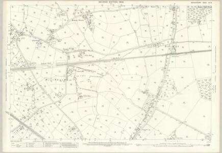 Warwickshire XXI.13 (includes: Berkswell; Coventry; Stoneleigh) - 25 Inch Map