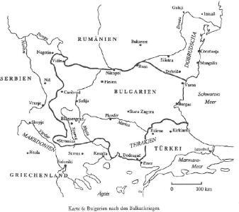 Bulgarien nach den Balkankriegen